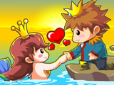 The Mermaid Princess Eloped | Friv Juegos Kizi